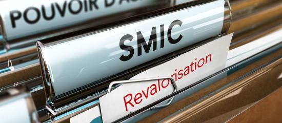 Le Smic revalorisé de 2,2% début octobre